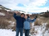 Roman and Linn in Montana